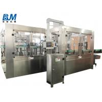 PET Bottle Soda Filling Machine / Filling And Packing Machine For Carbonated Drink Manufactures