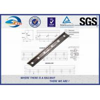 GB Standard Rail Fishplate , 38kg 43kg Rail Railway Joint Bar With 6 Holes TB/T 2345-2008 Manufactures
