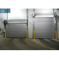 Thermal Insulated 2.5m/S 1.2mm High Speed Spiral Door Manufactures