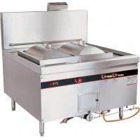 Commercial Natural Gas Rice Roll Steamer / Cooking Steamer 96kw For Restaurant Manufactures