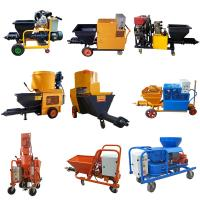 High Performance Mortar Spraying Machine 3 Phase For Wall 4.4kw Motor Power Manufactures