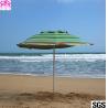 Buy cheap Custom leisure summer outdoor sun beach umbrella , beach umbrella parasol with logo prints from wholesalers