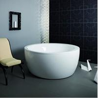 Eco - friendly Freestanding Round Tub / Deep Bathtubs For Small Bathrooms Manufactures
