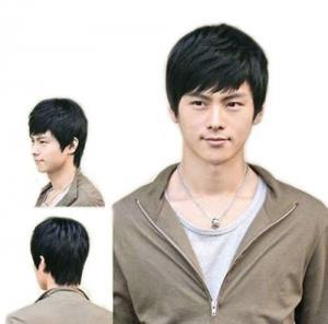 China Fashion Men's Short Layered Wig on sale