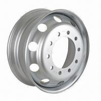 22.5 x 8.25 Truck Steel Wheel with TS16949 Certification Manufactures