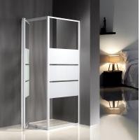 Side Panel Modular Glass Shower Cabins 800 X 800 X 1850 mm KPN2091 Manufactures