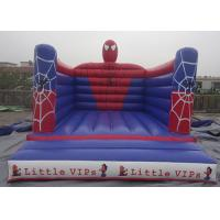 Outdoor Spiderman Inflatable Jumping Castle Bouncy Castle For Kids PVC Tarpaulin Manufactures