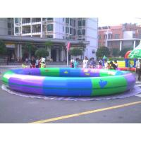 Fashion Round 0.9mm PVC Tarpaulin Inflatable Family Pool For Kids Manufactures