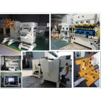 3 In 1 Decoiler Straightener Feeder for 300 mm Width 3.2 mm Thickness Metal Material Manufactures