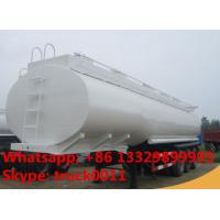 3 axle tri-axle 30000L fuel tank trailer for Zimbabwe, 3 axles 30m3 bulk road transported oil tank for sale Manufactures