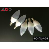 8W LED Candle Bulb Light / Energy Saving Indoor Spotlight Chandelier Manufactures