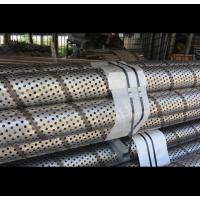Buy cheap 304 316L Perforated Stainless Steel Cylinder , Durable Perforated Filter Tube from wholesalers