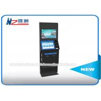 Multifunction Coin Counting Bill Payment Kiosk LCD / TFT Dual Touch Screen Manufactures