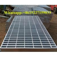 Hot galvanized steel grating plate Manufactures