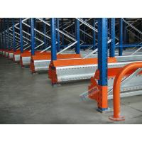 Semi Automatic Radio Shuttle System High Density Pallet Storage Q235B Meterial Manufactures