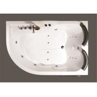 Contemporary Whirlpool Therapy Tubs Curved Apron Bathtub With Thermostatic Faucet Manufactures