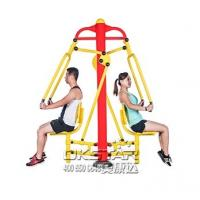 China TUV certificate with EN 16630 standard good quality Outdoor Fitness Equipment push trainer Manufactures