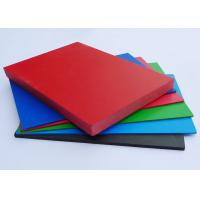 Shiny PVC Extruded Foam Board Non Toxic Rigid For Architectural Decoration Manufactures