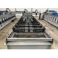 Trapezoidal Roof Glazed Tile Roll Forming Machine For Construction Material Manufactures