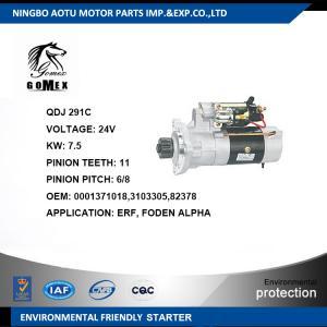 0001371018 3103305 82378 Car Engine Parts Automotive Starter Motor for ERF / FODEN ALPHA Manufactures