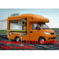 Quality diffierent colors mobile food truck for sale, mobile sales vending truck factory for sale