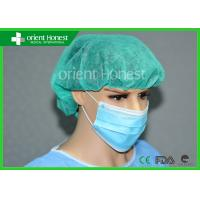 China Bouffant Scrub Disposable Surgical Caps For Surgeon 24 Inches on sale