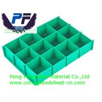 China 2-7mm Colorful Polypropylene Corrugated Plastic Dividers for packing on sale