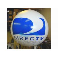 0.18mm PVC Durable Branded Balloons / Advertising Sphere Ball For Sponsor Event Manufactures