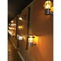 Cool White 6LM IP55 Solar Powered LED Wall Lights Ni-MH / AA / 1.2V 1000mA Manufactures