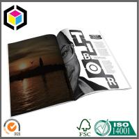 China Glossy CMYK Color Magazine Printing Factory; Custom Artwork Magazine/ Brochure on sale