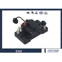 Single Pole Push To Reset Circuit Breaker Manual 20-200A Amo 48V DC Manufactures