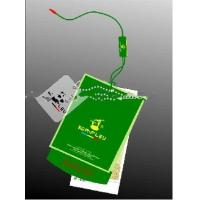Promotional Glossy Lamination  250gsm Cardboard Hang Tags Labals With Rope Manufactures