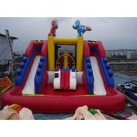 PVC Tarpaulin Outdoor Inflatable Water Slide For Kids Funny Amusement Games Manufactures