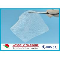 Cotton Non Woven Gauze Swabs 10 x 10 , X-ray Detectable Gauze Swabs Manufactures