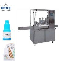 Eye Drop Bottle Filling Capping Machine High Accuracy For Glass Bottle Manufactures