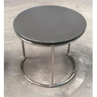 stone top metal end table/side table/coffee table for hotel furniture TA-0078 Manufactures