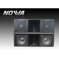 ActiveLine Array Sound System , Ground Stack Line Array Powered Speakers Manufactures