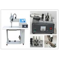 35Khz Ultrasonic Textile Sealing And Cutting Machine With Rotary Titanium Wheel Manufactures