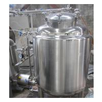 China 500 Gallon Stainless Steel Hot Water Tank , Water Storage Tank High Strength on sale