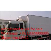 Quality hot sale dongfeng tianjin 180hp/190hp refrigerator truck, best price dongfeng for sale