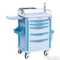 Hospital Stainless Steel Luxury Anesthesia Trolley Emergency Trolley/ First aid, anesthesia, daily care Manufactures