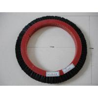 Black Red Stenter Brushes Wheel , Eco - Friendly Artos Stenter Brush Roller Manufactures