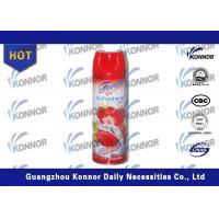 Strawberry / Lemon Aerosol Air Freshener Room Spray Home Deodorizer Manufactures