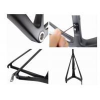 Quality Toray 1000  Full Carbon Road Bike Frame 700c For Light Bicycle 700C*25C for sale