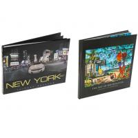 Thick Foreign Art Book Printing Services Coated Gloss Paper Material Manufactures