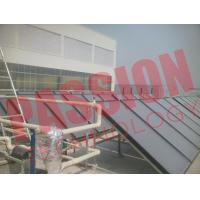 Blue Titanium Pressurized Flat Plate Solar Collector Heating System Manufactures