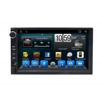 Automotivo Universal Double Din Car Dvd Player , Central GPS DVD 7 Inch Touch Screen Manufactures