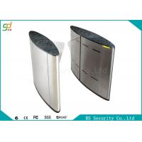 Smart Flap Barrier Arm Gate , Secuirty Roadway Pedestain Turnstile Manufactures