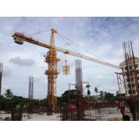 QTZ125 ( 6015 ) Construction Tower Crane 60m Boom Length and Split Mast Section Manufactures