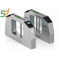 Swing Barrier Gate Bridge - Type Turnstiles With Remote Control Switch Manufactures